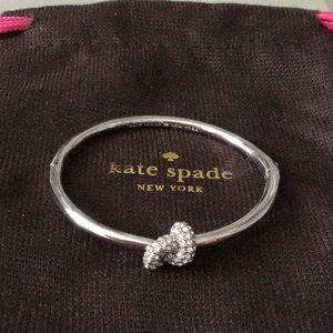 NEW Kate Spade Silver Sailors Knot Bangle